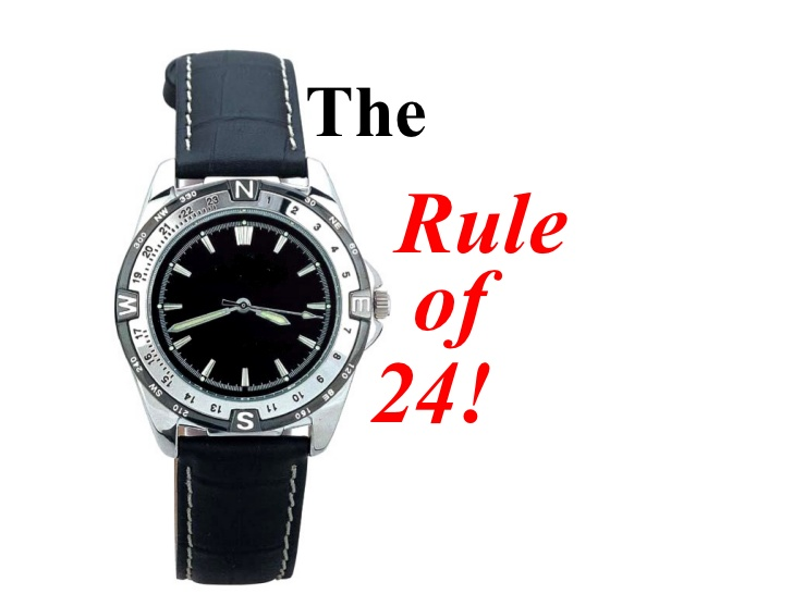 The Rule of 24